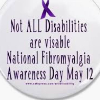 Fibromyalgia is an invisible illness. Unfortunately, we get judge because we don't look sick, but we live in agony every day!! image